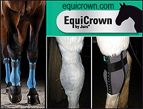 EquiCrown Compression Bandages for Horses.