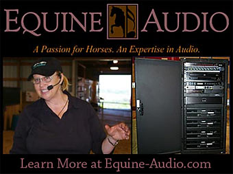Equine Audio and Security Systems!