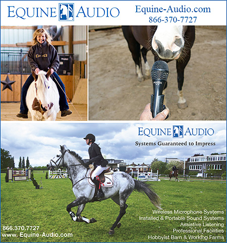 Equine Audio Sound Systems for the Horse Industry