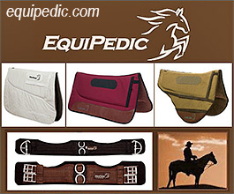 EQUIPEDIC Saddle Pads for Horses!