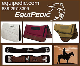 Horse Saddle Pads by EquiPedic
