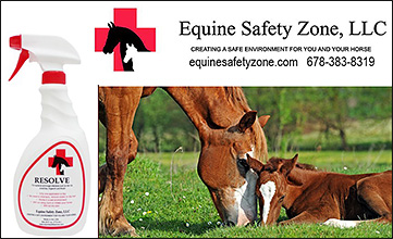 Equine Safety Zone, LLC Resolve for horse fungal infections.