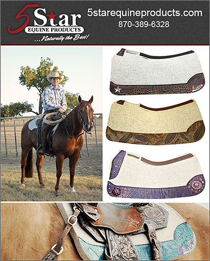5 Star Equine Products and Saddle Pads for Horses