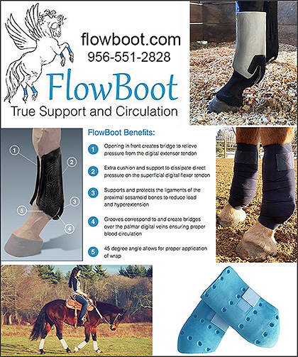 Horse Protection Boot by FlowBoot!