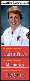Laurie Loveman Author and Fire Fighter.