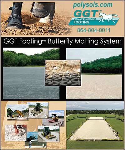GGT German Geotextile Equine Footing