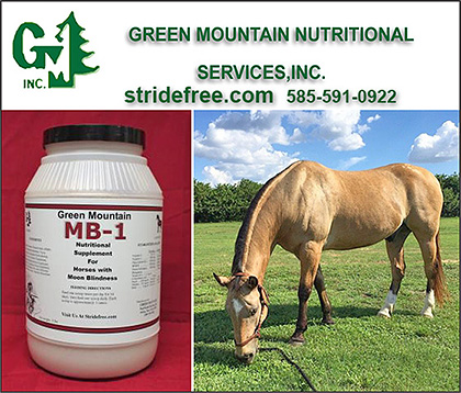 Green Mountain Nutritional Services, Inc. Horse Supplements