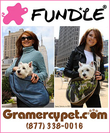 Wearable Dog Carrier Called FUNDLE!
