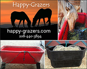 Happy Grazer Slow Feeder  for Horses