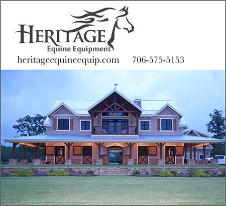 Heritage Equine Equipment Barn Homes