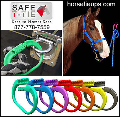 Safe T-Tie Keeping Horses Safe!
