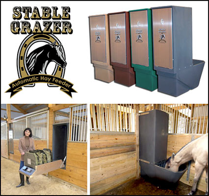 in feeders wallmounthayshed barn feeding rack of action for horses care livestock automatic the to horse outside feeder hay taking two