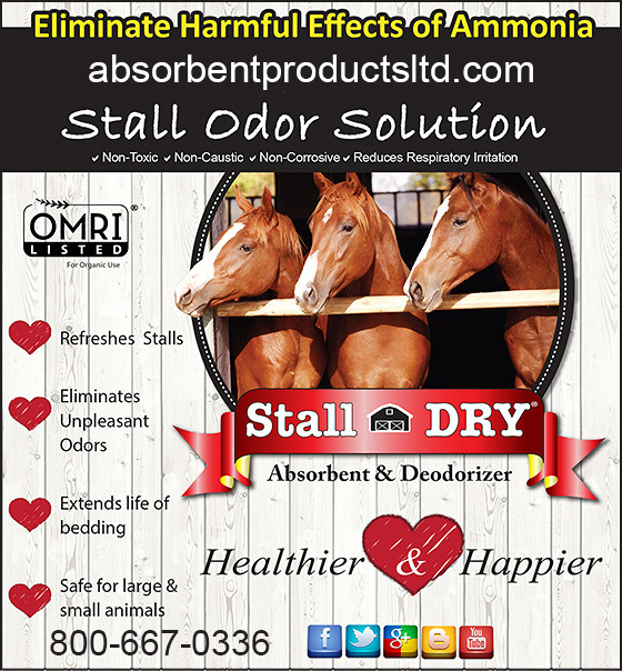 Stall Dry And Plus Deodorizer With Antimicrobial Are Ful Effective Solutions To Odor In Your Barn Horse Trailer