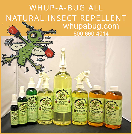 Whup-a-bug insect repellant