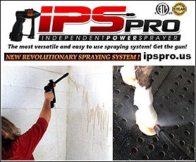 Independent Power Sprayer IPS Sprayer for all of your jobs that require a sprayer!