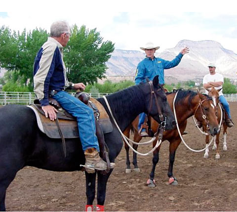 John Lyons and Josh Lyons Horse Trainere Certification