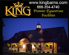 King Premier Equestrian Facilities Horse Barns