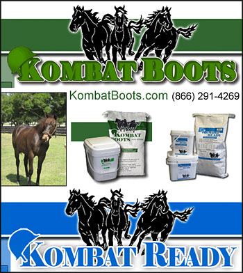 KombatBoots Horse Health Supplements