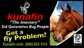 Kunafin fly and mosquito control for horses!
