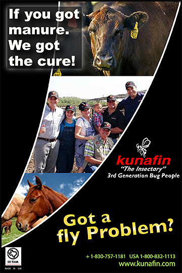 Kunafin Fly Control for Horses!