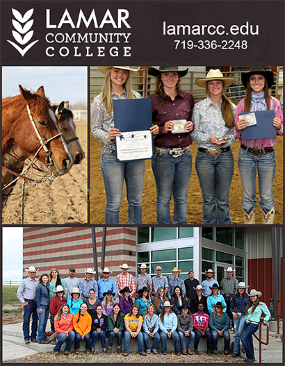LAMAR COMMUNITY COLLEGE Equine Business School