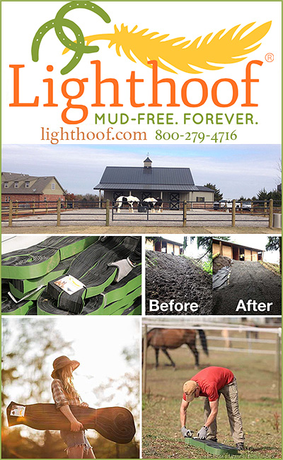 Lighthoof Equine Mud Control