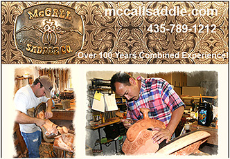 McCall Custom Horse Saddles