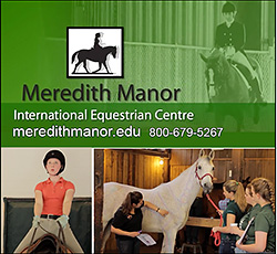 Meredith Manor Horse Industry Professional Training School