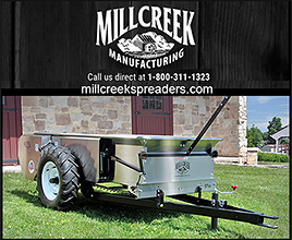 MILLLCREEK Manufacturing of Horse Manure Spreaders