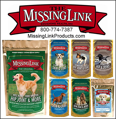 Missing Link Supplements for Dogs!