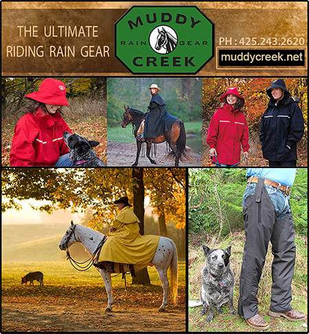 Muddy Creek Rain Gear for Horse Owners