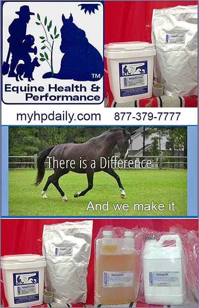 MyHP Daily Equine Health and Performance Supplements