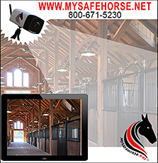 My Safe Horse Smart Camera for Horse Owners