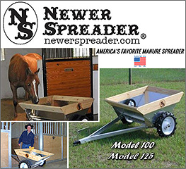 Newer Spreader Horse Manure Spreader