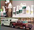 Removing Odors and Germs around Horses