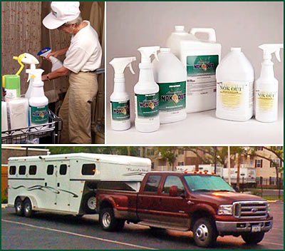 Removing Odors around Horses.