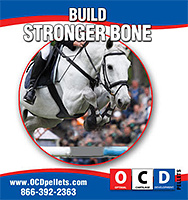 OCD Pellets Build Stronger Bone for Horses