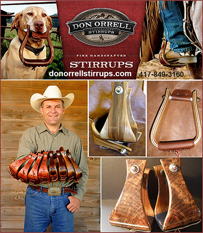 Don Orrell Fine Handcrafted Stirrups