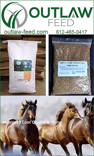 OUTLAW FEED Flax Supplements for Horses