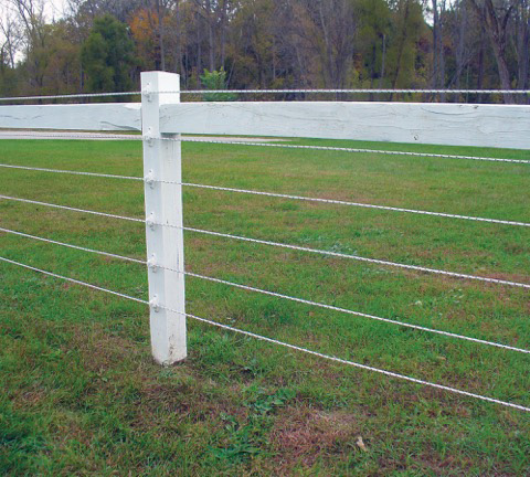 Check grounding system for horse fencing