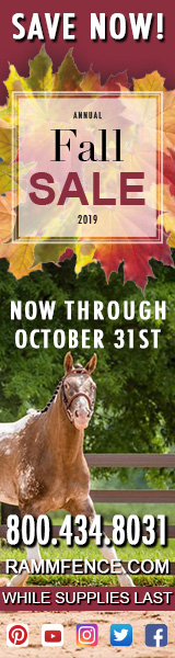 Ramm Horse Fencing and Stalls FALL SALE!