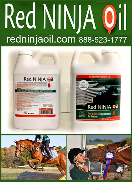 Red Ninja Oil Vitamin E Supplement for Horses