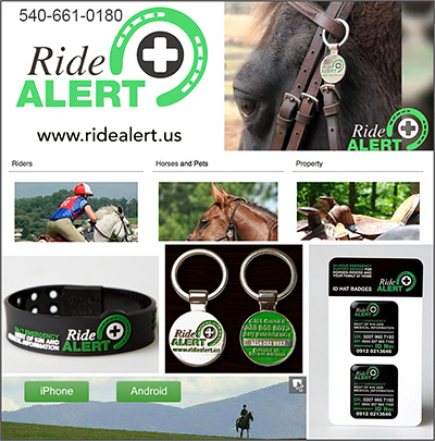 Ride Alert Horse and Rider Protection