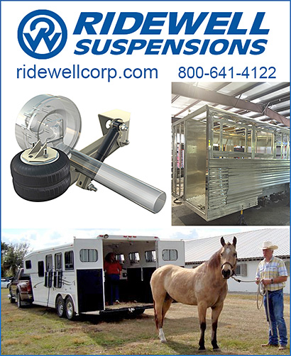 Horse Trailer Air Ride Systems by Ridewell Suspensions