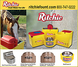 Ritchie Automatic Horse Waterers!