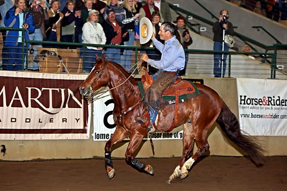 Richard Winters wins Road to the Horse 2009!