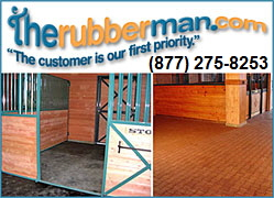 Horse Stall Flooring from theRubberMan.com