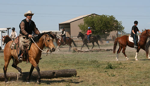 Clinics present new horses, new environments, and new challenges.
