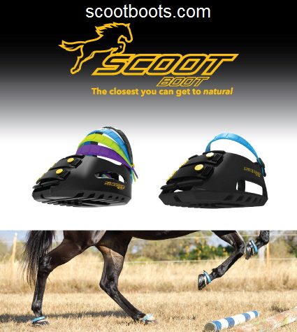 Scoot Boot Horse Hoof Protective Boots