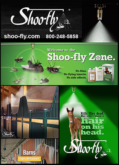 Shoo-fly Automatic Fly Control for Horses!